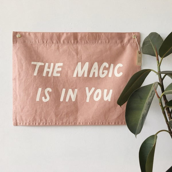 Image of MAGIC Flag - Mauve
