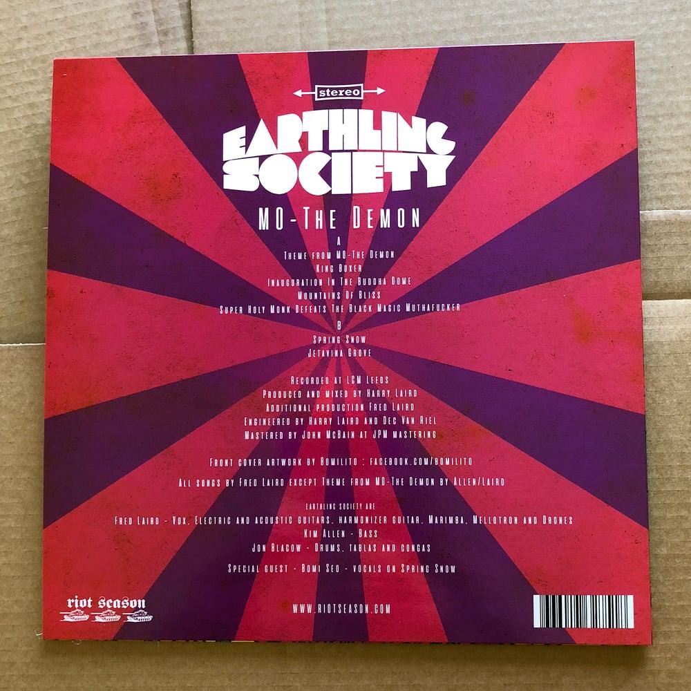 EARTHLING SOCIETY 'MO - The Demon' Coloured Vinyl LP & Bonus CD