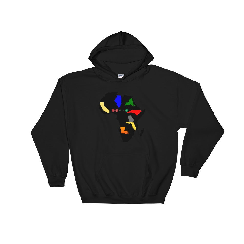 Image of Zonin' States of Africa Hoodie