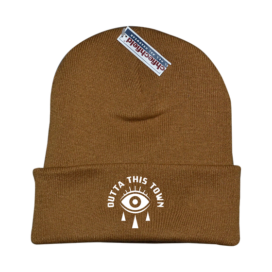 Image of Eye Beanie Caramel