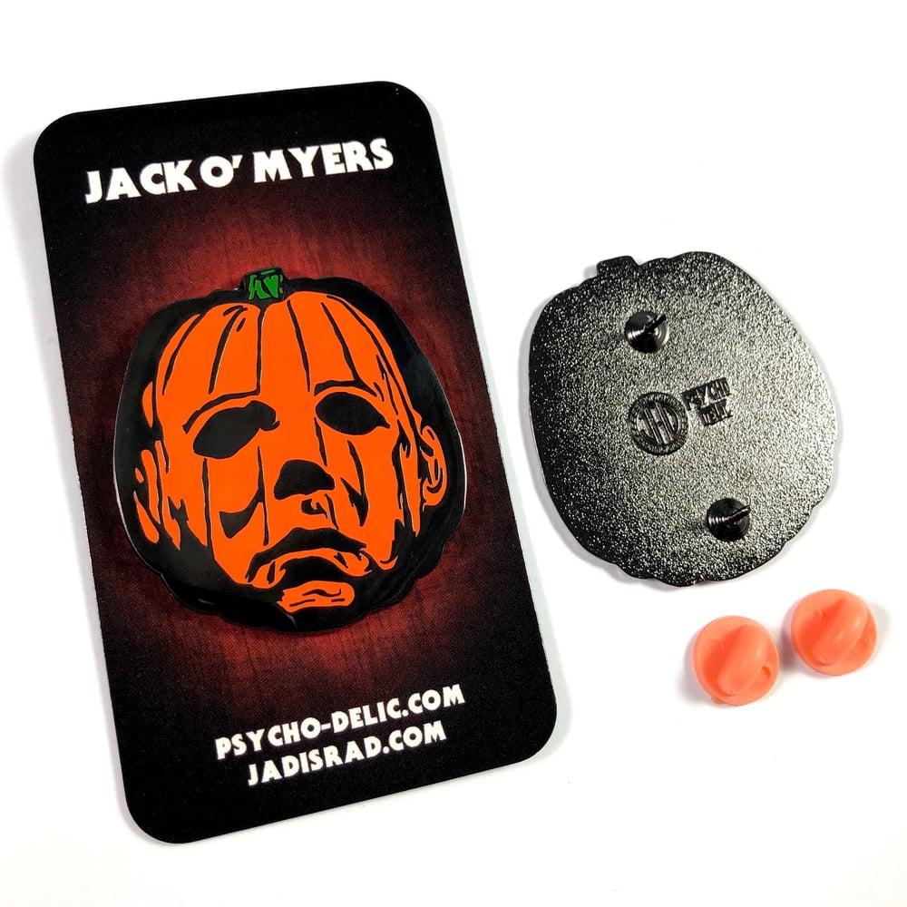 Jack O' Myers (Enamel Pin)