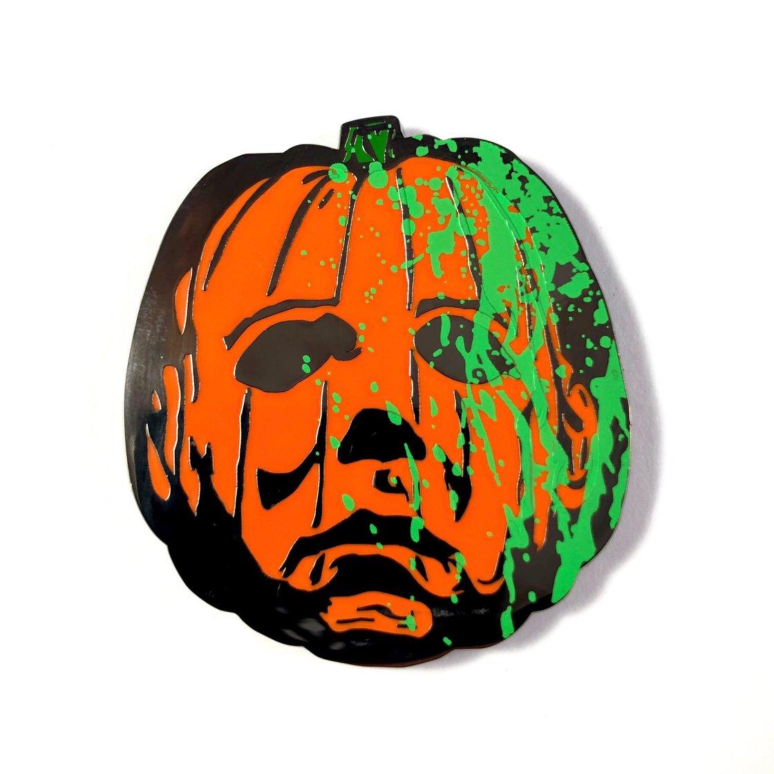 Image of Jack O' Myers (Slime) Enamel Pin