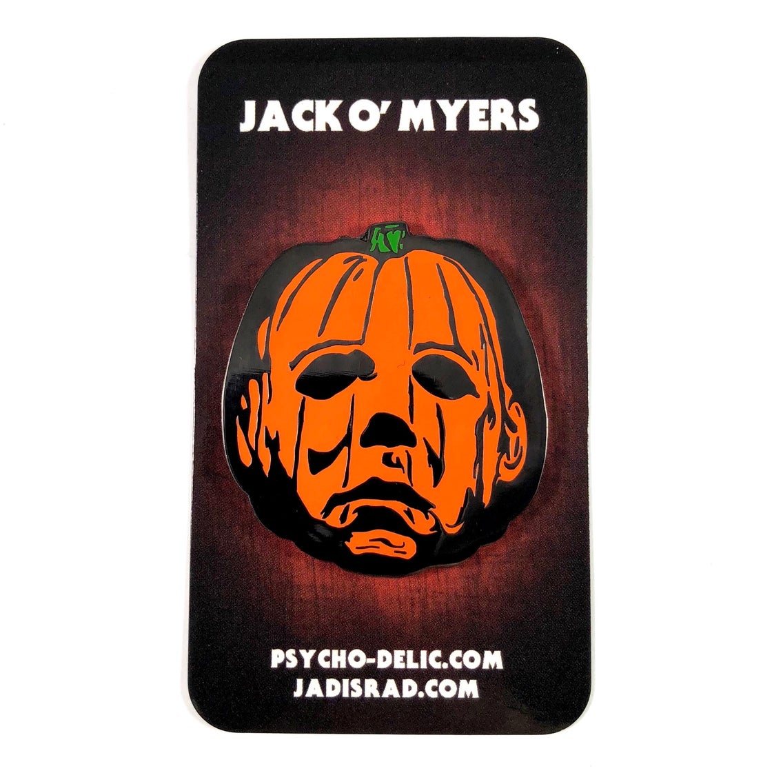 Image of Jack O' Myers Enamel Pin