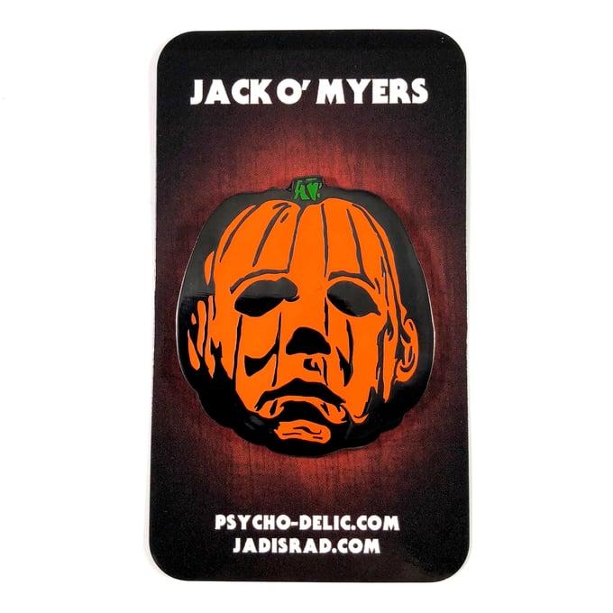 Image of Jack O' Myers Enamel Pin