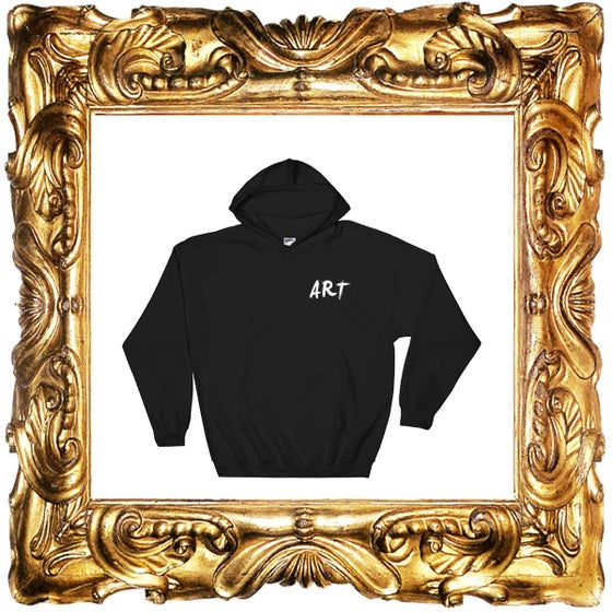 Image of BLACK ART HOODIES