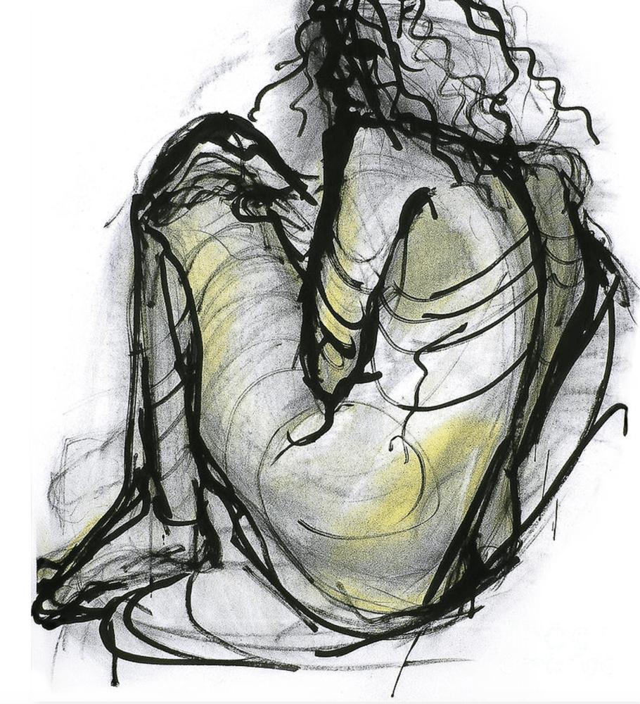 Image of Life Drawn Figure Study