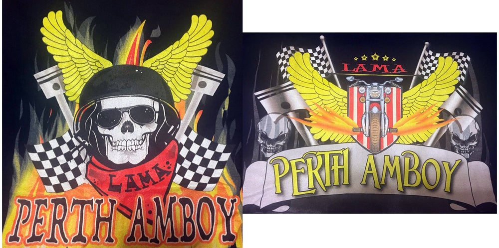Image of LAMA Perth Amboy Tee (2 designs)