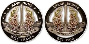 Image of Mercenary Coin