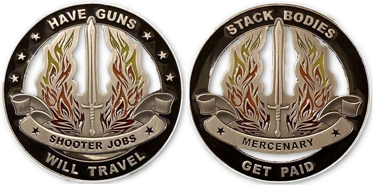 Image of Mercenary Coin