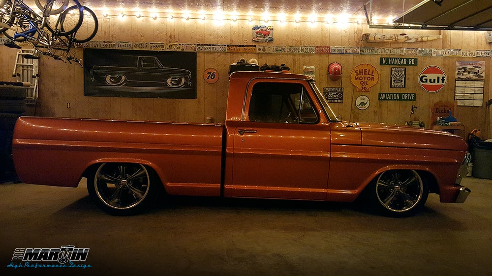 Image of '61-'66 F100 Ford Truck T-Shirts Hoodies Banners