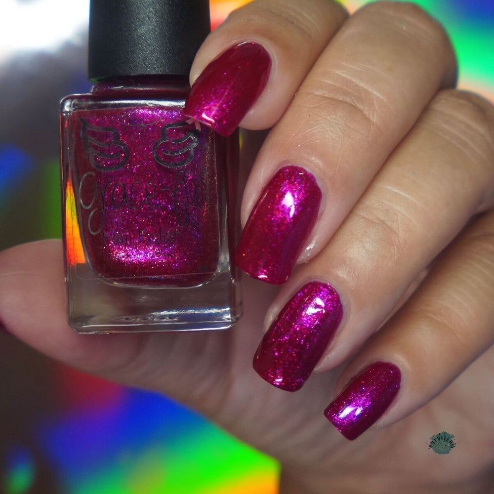 Image of Pick Your Poison – an aurora shimmer pink to red