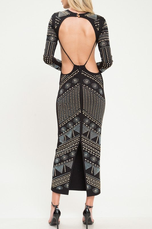 Image of Stone Cold Bodycon Dress