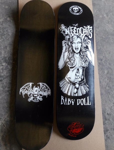 Image of The Independents limited edition  Babydoll Skate Deck by Aces & 8's