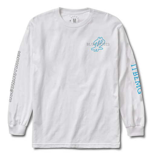 Image of Blue Notes LS White
