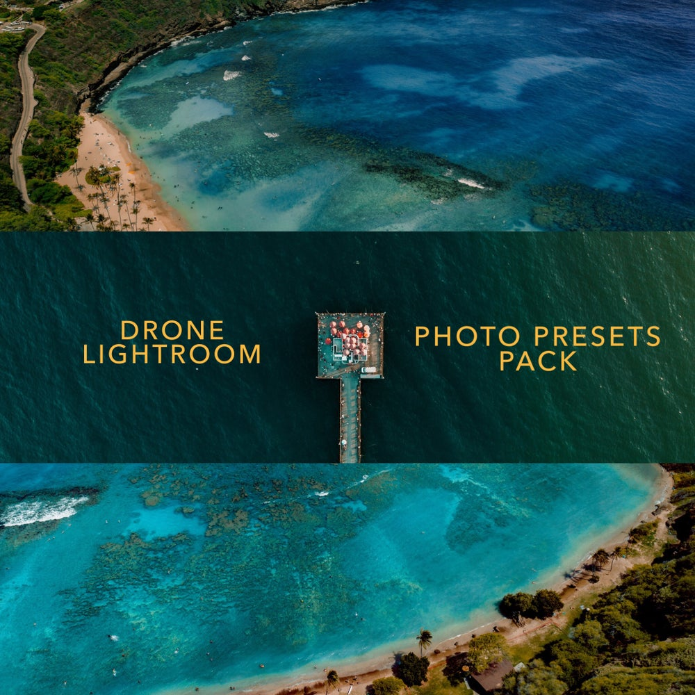 Image of Drone Lightroom Photo Presets!