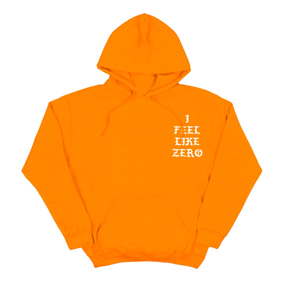 Image of SOLD OUT | WHT I FEEL LIKE ZERO DESSERT HOODIE | EXCLUSIVE RELEASE