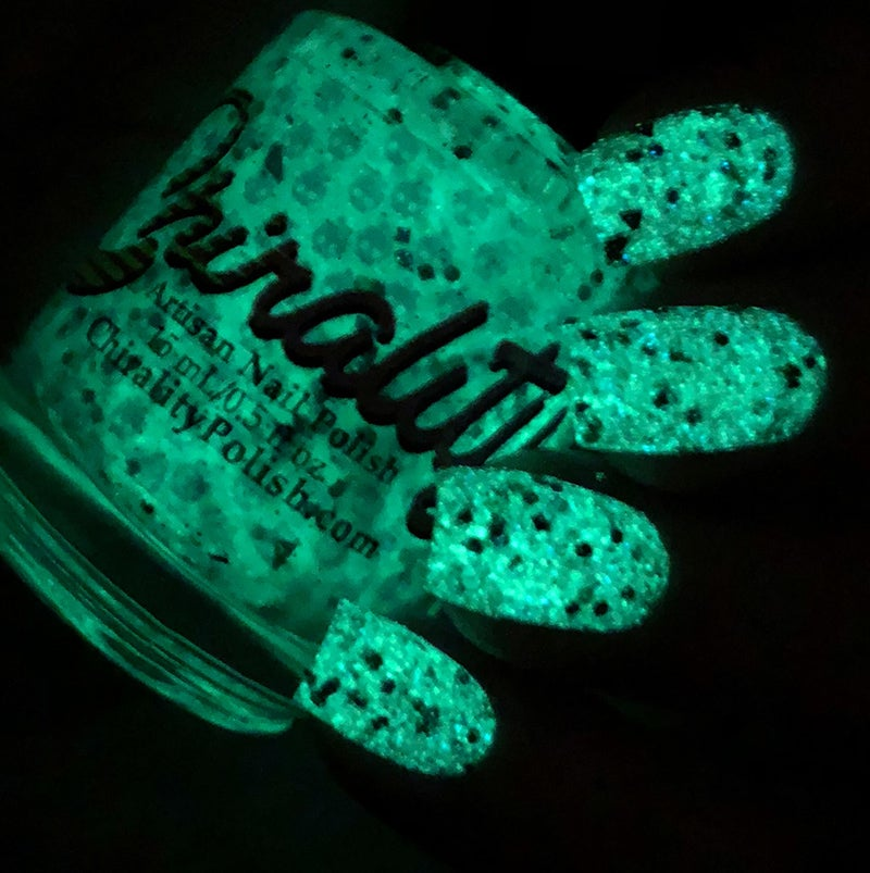Image of Closed Casket - Glows in the Dark!