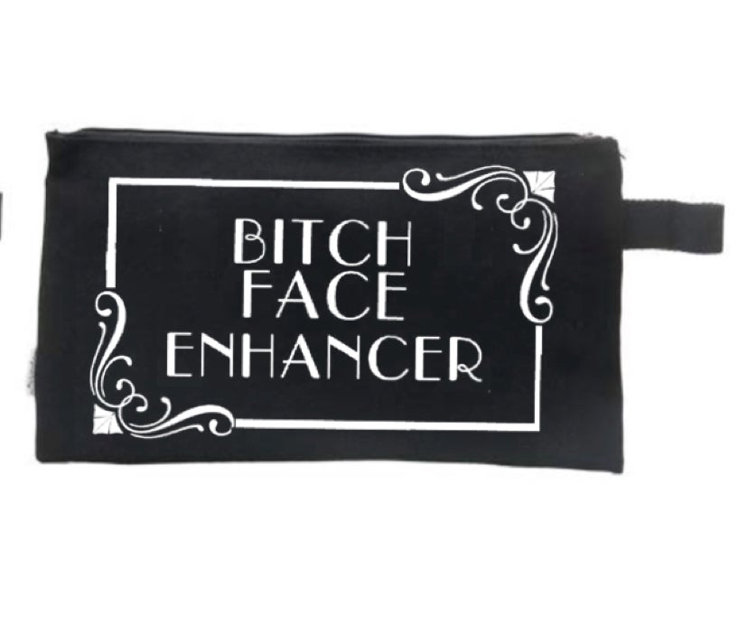 Image of Bitch Face Enhancer Mean Makeup Bag