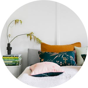 Image of Horizontal Hakea Moonrise Linen Cushion Cover