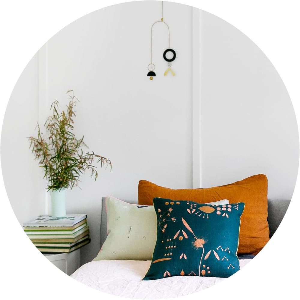 Image of Hakea Moonrise Linen Cushion Cover