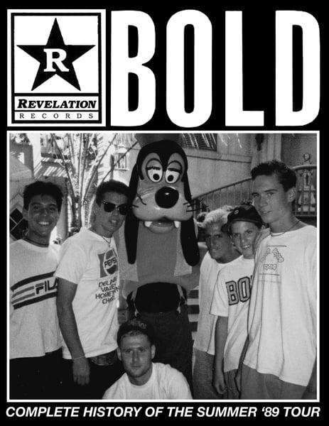 Image of SLP-20 BOLD '89 tour zine