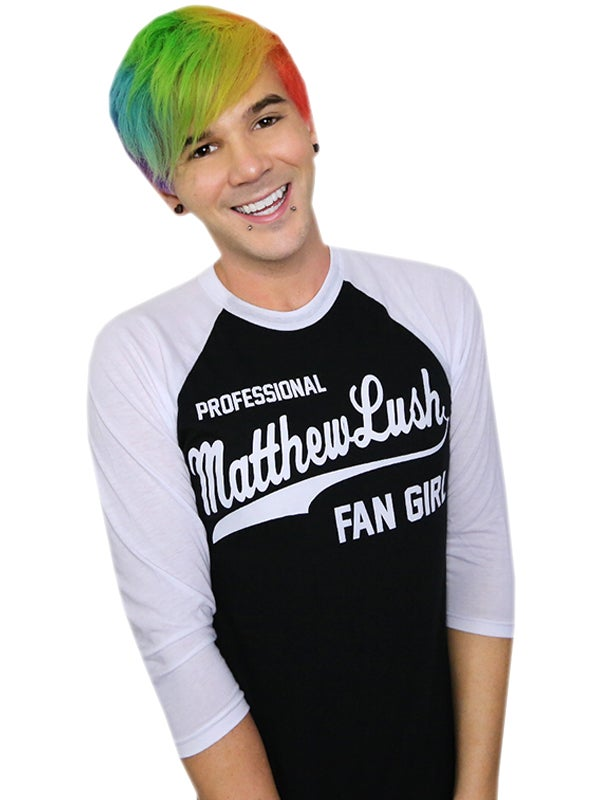 Image of LUSH FAN GIRL BLACK SHIRT