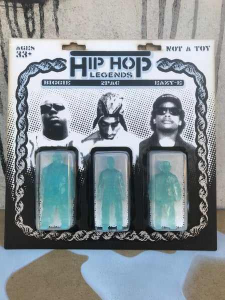 Image of HIP HOP LEGENDS - GHOST 3 PACK