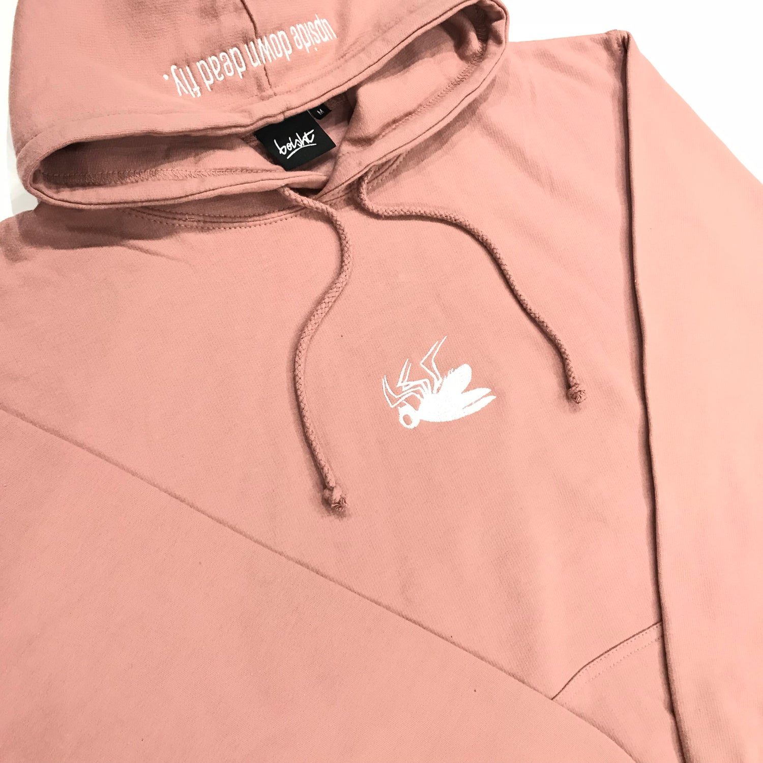 Image of DUSTY PINK FLY HOODIE