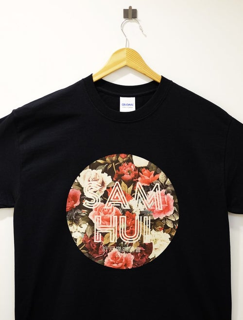 "Image of SAM HUI ""FLORAL"" TOUR SHIRT"