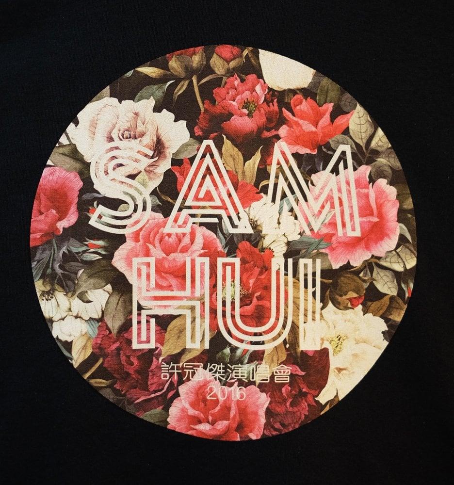 "Image of SAM HUI ""FLORAL"" TOUR SHIRT"