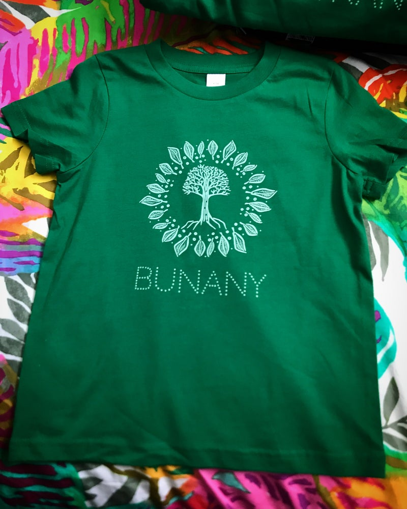 Image of 'Bunany' - Little One Kids Tee