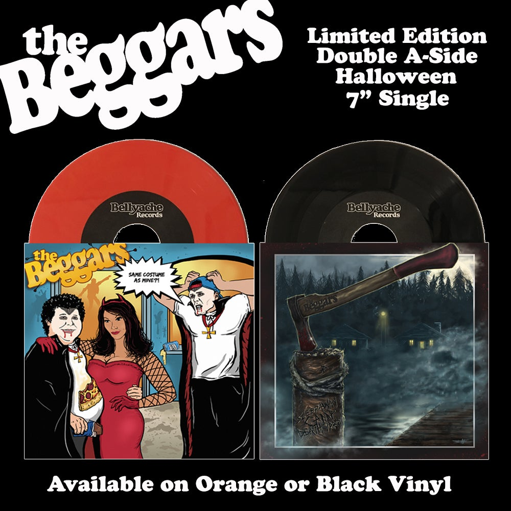 "Image of The Beggars - Same Costume As Mine / Sleepaway Camp Death Trap - Double A Side 7"" Single"