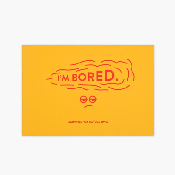 Image of I'm Bored (kid's activity book)