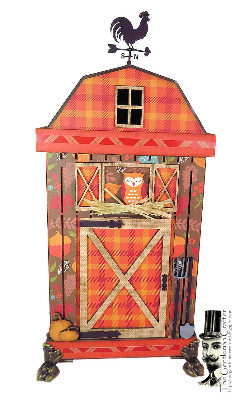 Image of Fall Barn -Thin House Mini