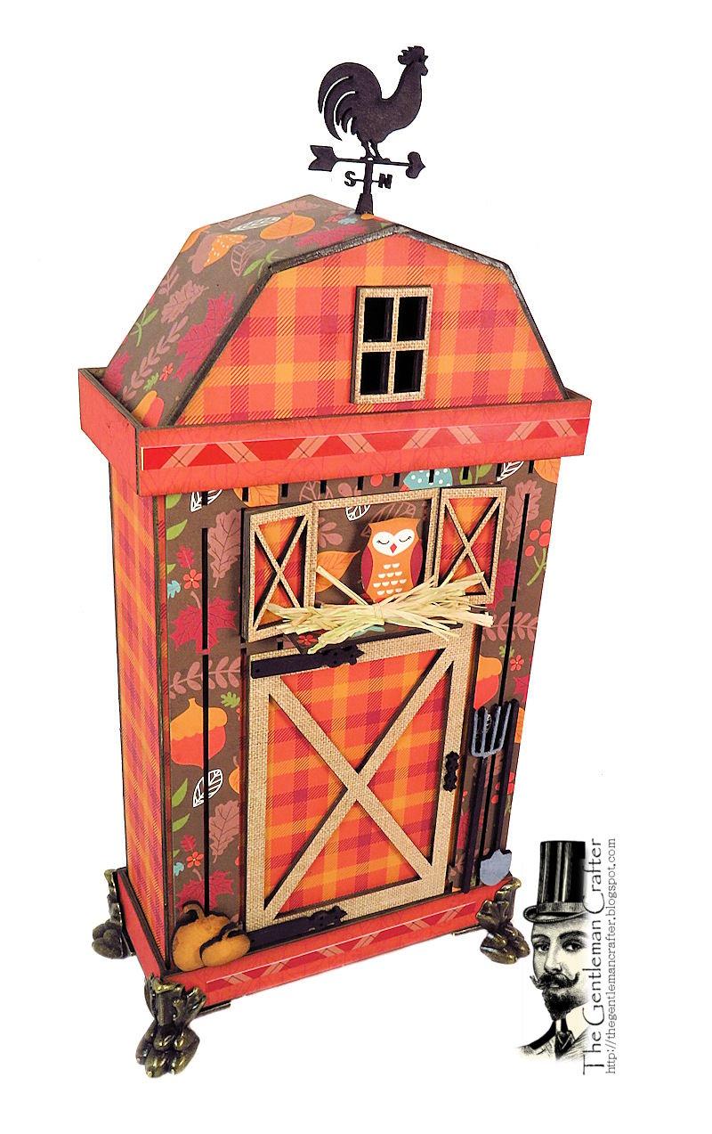 Image of Fall Barn -Thin House Mini