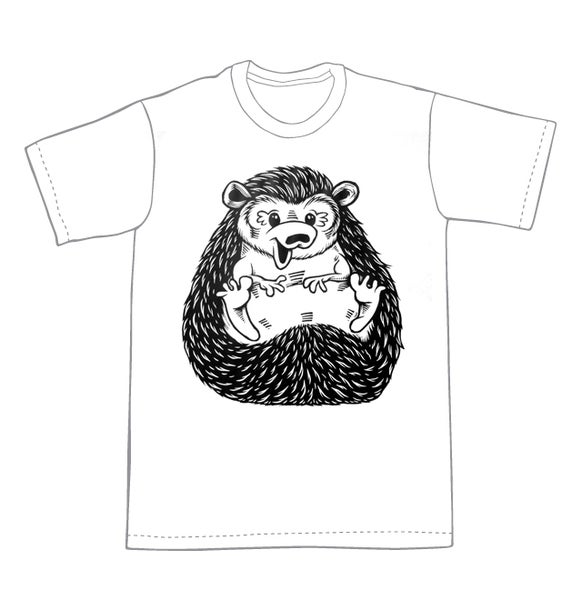 Image of Hedgehog T-shirt **FREE SHIPPING**