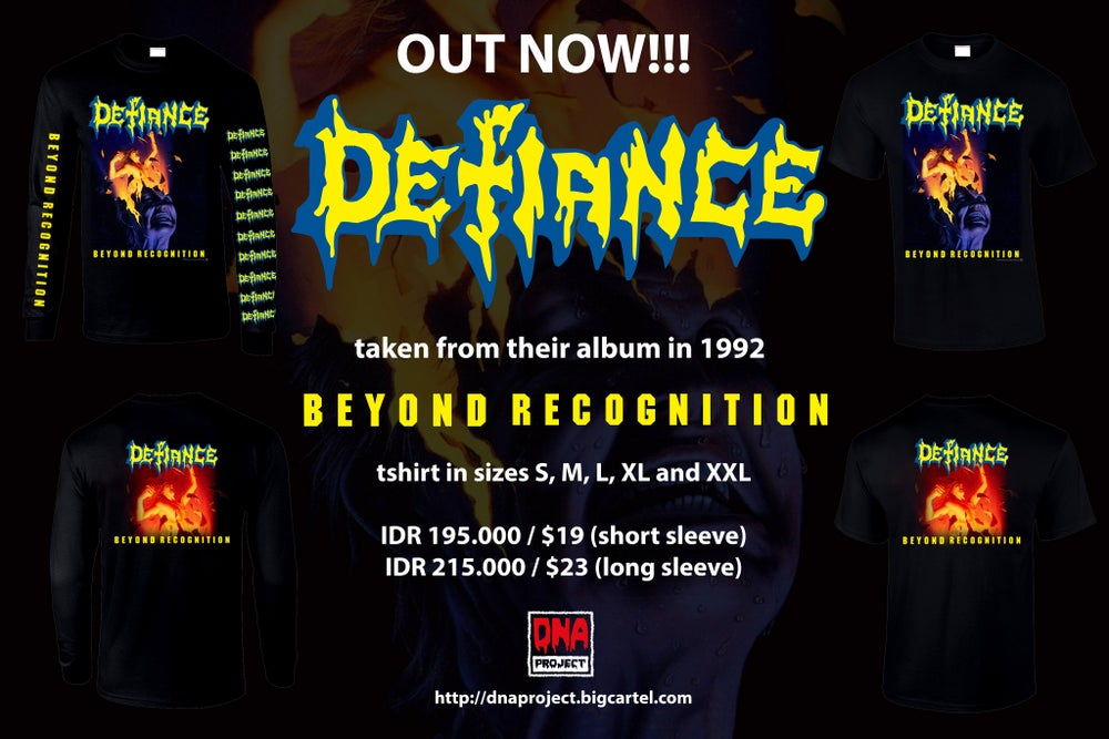 Image of Defiance - Beyond Recognition