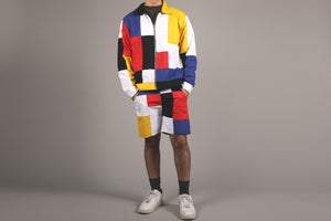 Image of Patchwork Shorts
