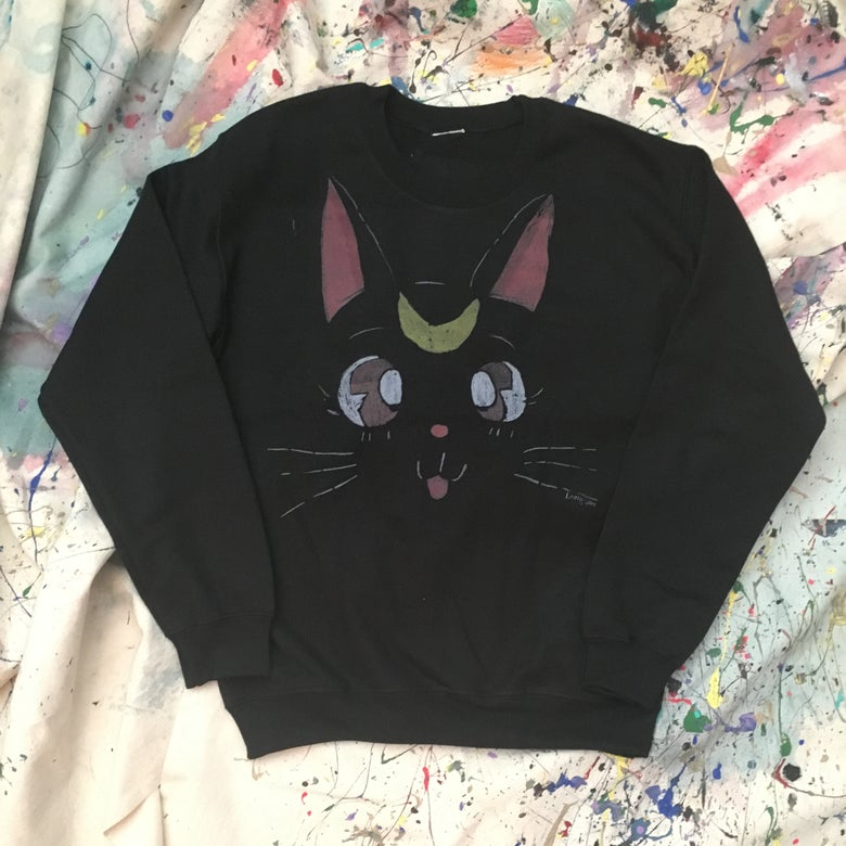 Image of Luna [Sweater] (Sailor Moon Series)