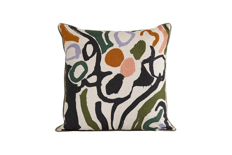 Image of 'Cove' Cushion Green- Land Collection