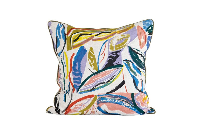 Image of 'Pampas' Cushion- 60 x 60cm - Land Collection
