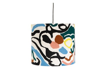 Image of 'Cove' Lampshade Blue- Land Collection