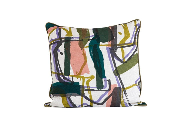 Image of 'Monolith' Cushion Moss- 55 x 55 cm- Land Collection