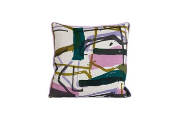 Image of 'Monolith' Cushion Heather 55 x 55 cm- Land Collection