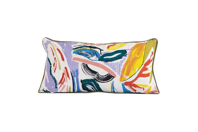 Image of 'Pampas' Cushion 30 x 60 cm- Land Collection