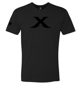 "Image of LIMITED EDITION: ""X"" Black Out Unisex Tee"
