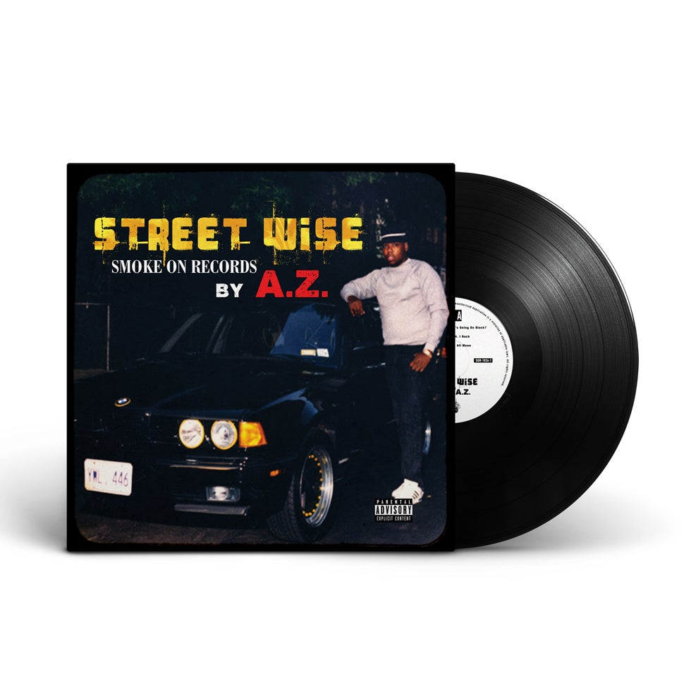 Image of A.Z. - Street Wise Vinyl