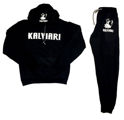 Image of KALVIARI SAMOWOLF MENTALITY SWEATSUIT (2 PC SET)