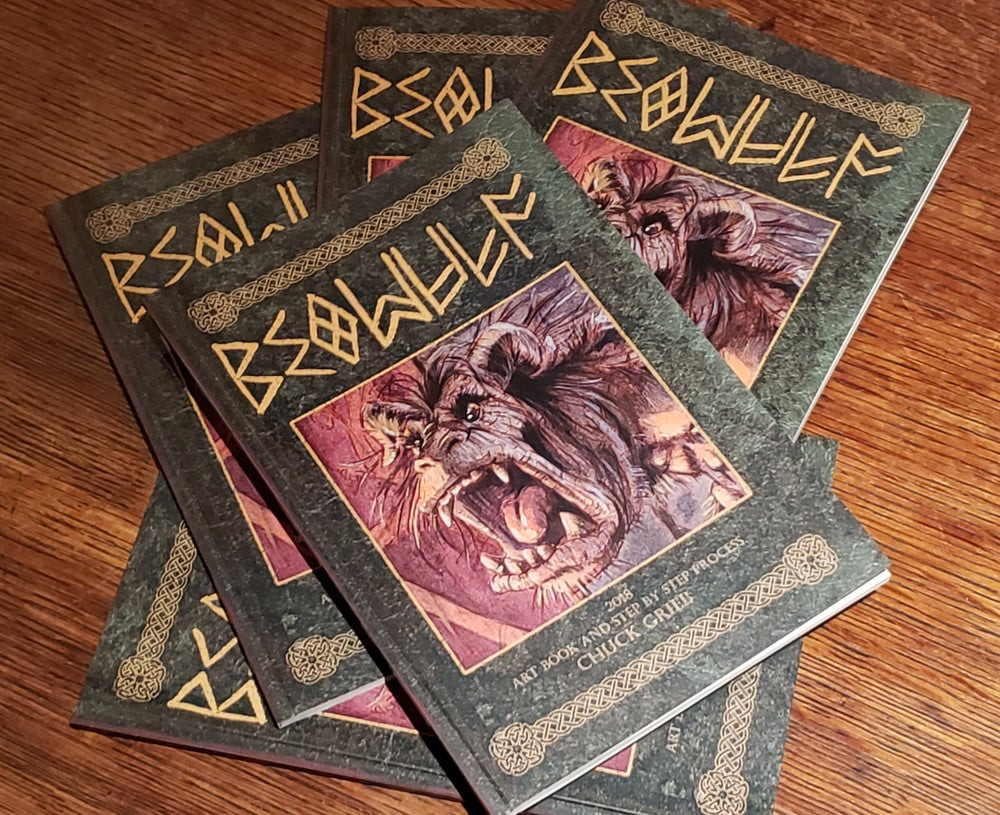 Image of Beowulf Art Book
