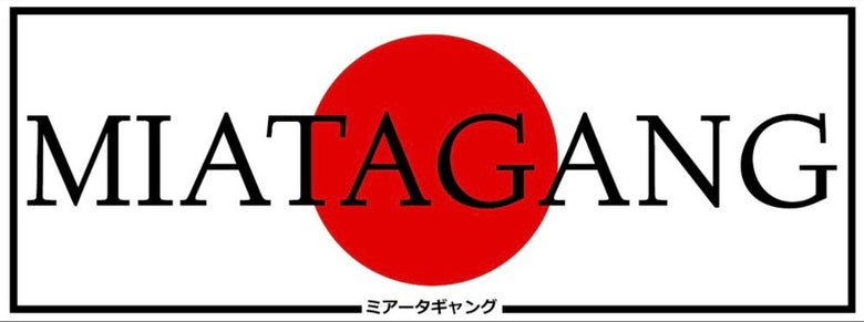 Image of Bumper Sticker - MIATAGANG Japan